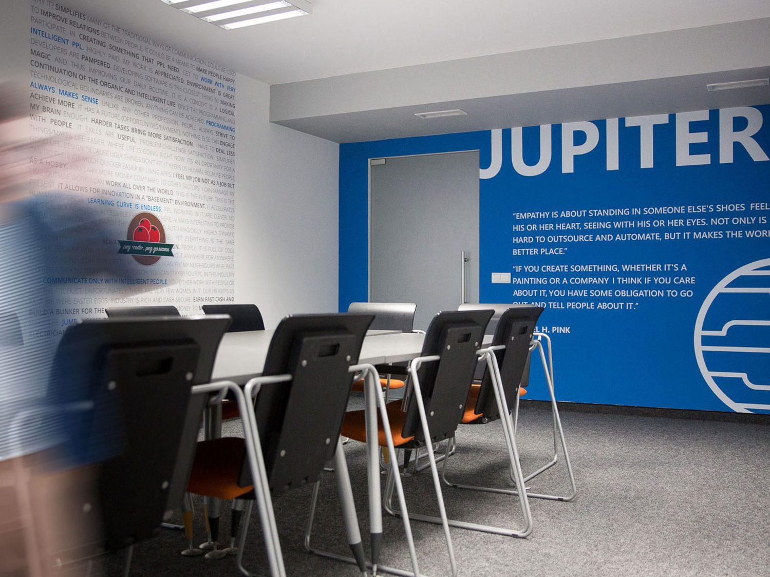 Meeting room dedicated to Jupiter