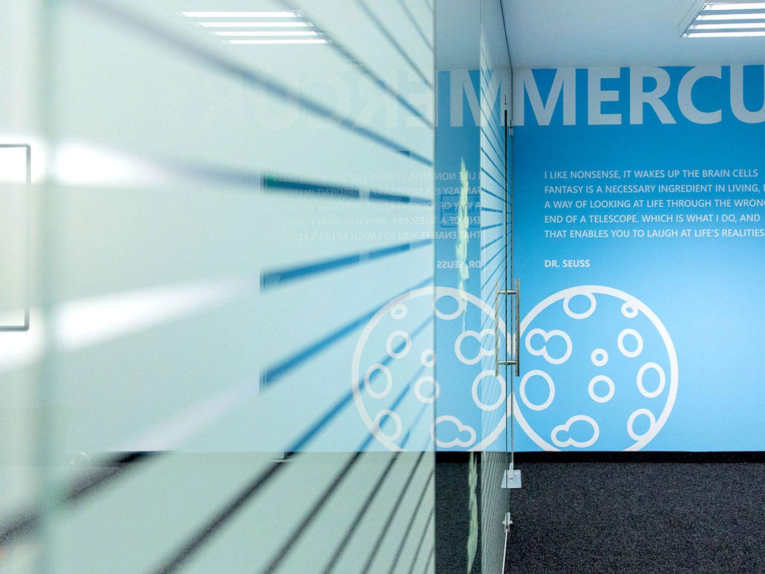 Meeting room dedicated to Mercury