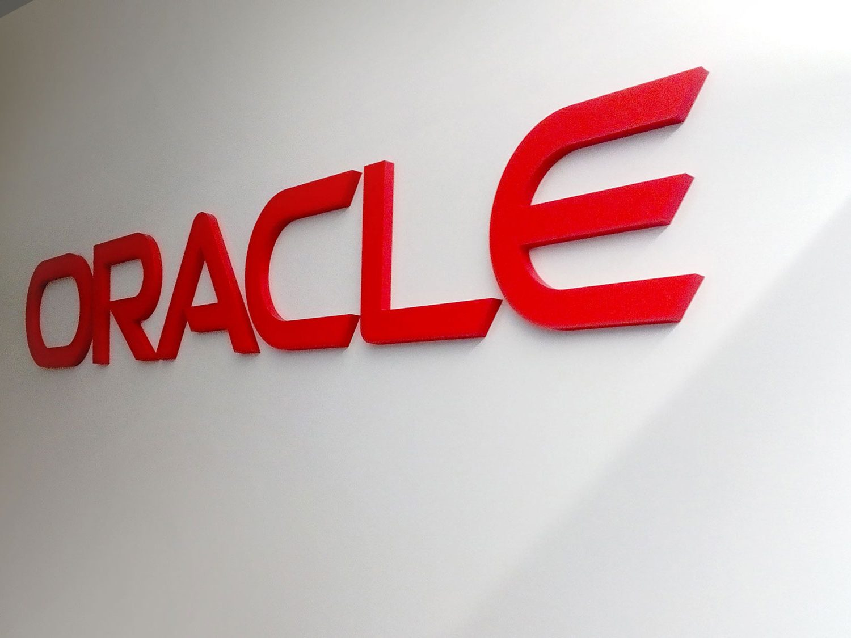 3D Oracle logo